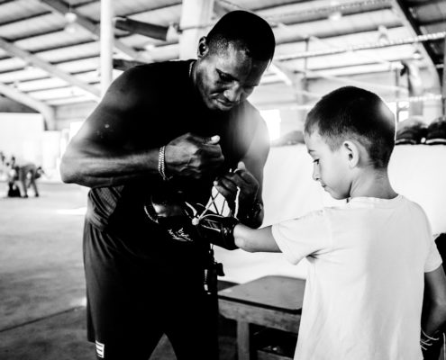 kid boxing mentor coaching