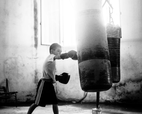 kid boxing