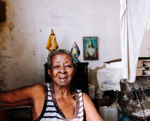 woman old cuba
