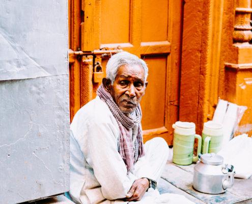old man delhi