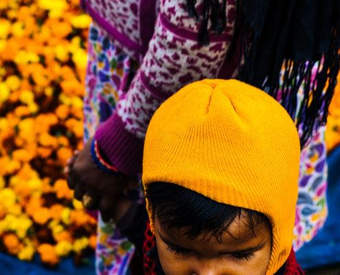 flower market kid